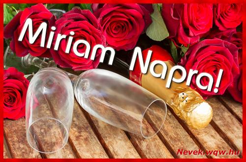 Miriam üdvözlőlap