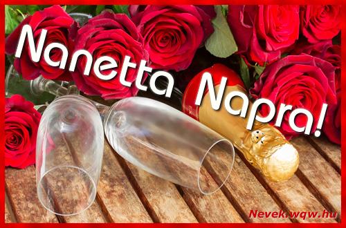 Nanetta üdvözlőlap