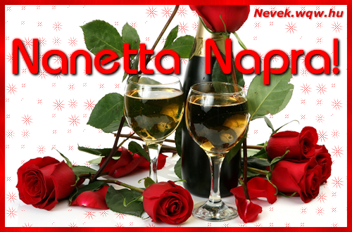 Nanetta névnapi kép