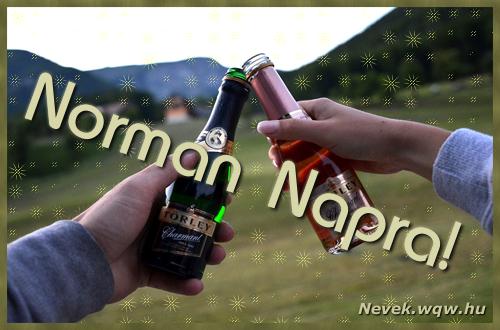 Norman képeslap