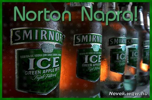 Norton névnapi kép