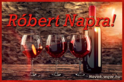 Vörösbor Róbert névnapra