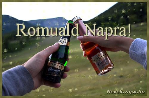 Romuald képeslap