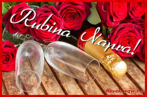 Rubina üdvözlőlap