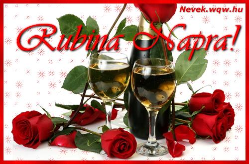 Rubina névnapi kép
