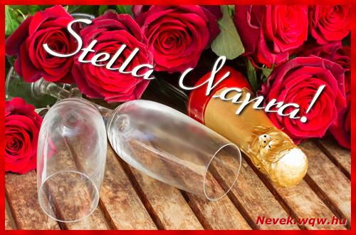 Stella üdvözlőlap
