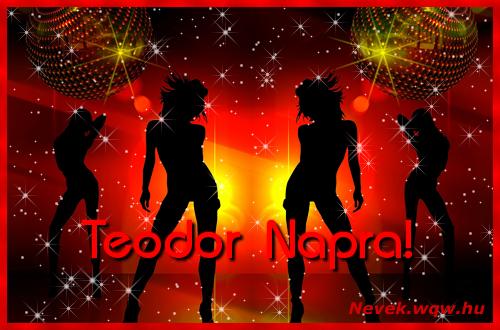 Teodor névnapi képeslap