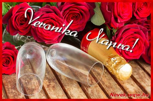 Veronika üdvözlőlap