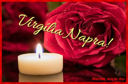 Virgília képeslap