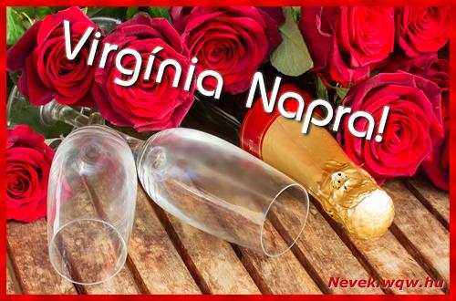 Virgínia üdvözlőlap
