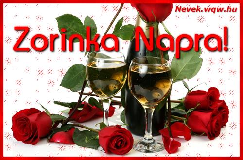 Zorinka névnapi kép